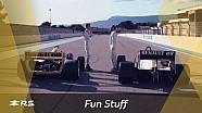 Nico Hülkenberg  RS01 ve RE40 ile geçmişe dönüyor