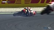 Marc Marquez kecelakaan di kualifikasi Catalunya