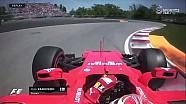 2017 Kanada GP Sıralama - Räikkönen'de Kanada Duvarlarından Nasibini Alıyor