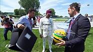 2017 Kanada GP Sıralama - Hamilton'a Senna'nın Kaskı Hediye Edildi