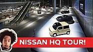 Nissan HQ tour- GT-R history!