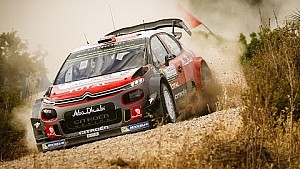 Rally d'Italia, Mikkelsen in azione