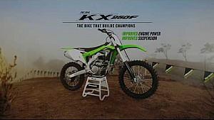 2018 KX250F tech video suspension