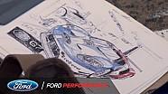 24 horas de Le Mans 2017: Ford GT - la inspiración de un artista