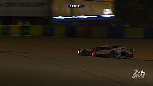24 Heures du Mans - Abandon de la Toyota #7