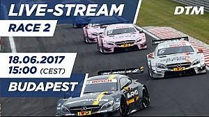 Live: Race 2 (Multicam) - DTM Budapest 2017
