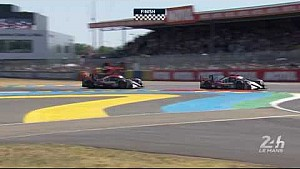 El #38 DC racing team gana la LMP2 #LeMans24 y segundo en general