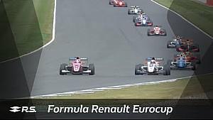 Formula Renault Eurocup : Silverstone 1. yarış özet