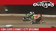 World of Outlaws Craftsman sprint cars Granite city speedway June 20, 2017 | Highlights