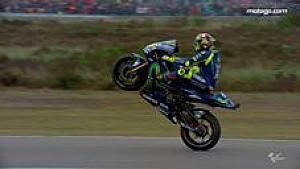 Highlight kemenangan Rossi di Assen, MotoGP Belanda 2017