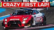 Un premier tour épique au Paul Ricard en Nissan GT-R GT3 !