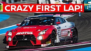 Onboard the epic first lap at Paul Ricard! GT-R NISMO GT3
