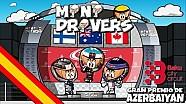 El GP de Azerbaiyán de Fórmula 1 según 'MiniDrivers'