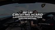 Vuelta a 360˚ con Lamborghini Huracan Spyder - Circuit Paul Ricard
