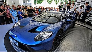 Ford au Festival of Speed de Goodwood 2017