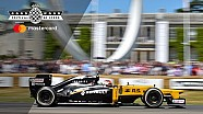 Robert Kubica dans une F1 à Goodwood