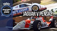 Group C Jaguar XJR-12D v Penske PC22 cart