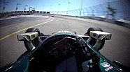 Unas vueltas con Ed Carpenter en el Iowa speedway