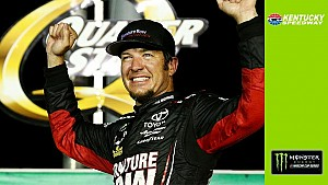Emotional Truex Jr. on late caution: 'I thought we were dead!