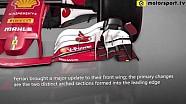 Ferrari'nin Avusturya GP güncellemeleri