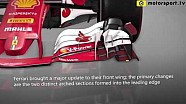 Actualizaciones de Ferrari en el GP de Austria