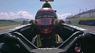 Sebastien Ogier test RB7 Formula 1-auto