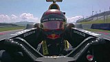أوجييه يختبر سيارة فورمولا واحد للمرّة الأولى في النمسا