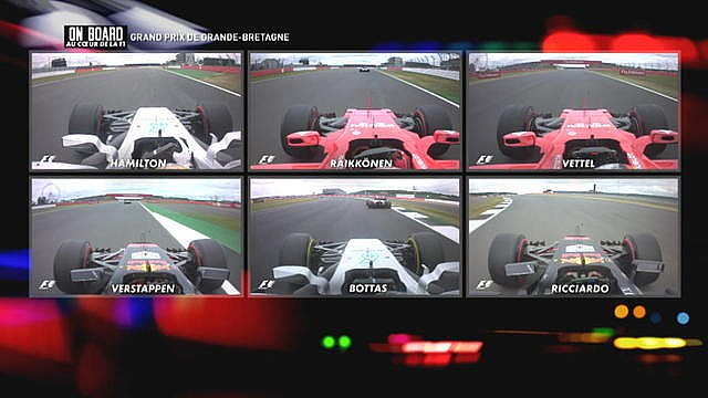 Formule 1 On Board Canal+ - GP de Grande-Bretagne