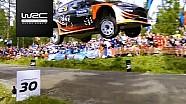 Finlandya WRC: 18-21 etaplarda yaşananlar