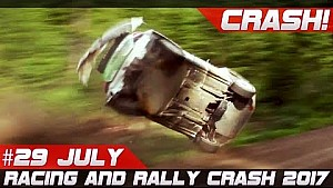 Racing andrally crash compilation week 29 July rally Fnland 2017 special