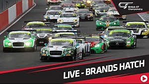 British GT - Brands Hatch 2017  - Full show - Live