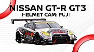 Driver POV! Helmet cam in Nissan GT-R Nismo GT3 : Jann Mardenborough/ Fuji Speedway