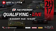 Live - Fuji - Qualifying - Blancpain GT Series Asia 2017