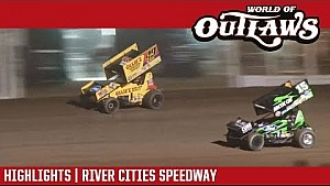World of Outlaws Craftsman sprint cars river cities speedway August 18, 2017 | Highlights