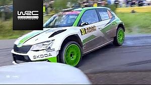 WRC 2 - Almanya Rallisi 2017: Cumartesi - Özet
