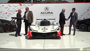 HPD Trackside -- Acura ARX-05 DPi car reveal in Monterey