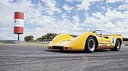Mencoba mobil pemenang Can-Am digunakan Bruce McLaren