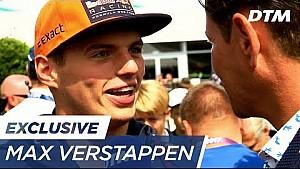 Max Verstappen in Zandvoort