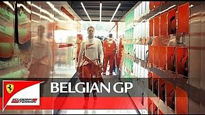 Spa: Hinter den Kulissen von Ferrari