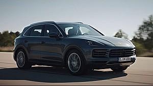 The new Porsche Cayenne in motion.