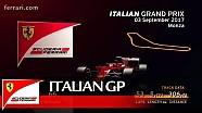 Прев'ю Гран Прі Італії 2017 від Ferrari