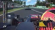 2017 İtalya GP -  Magnussen'in Verstappen'e Sitemi