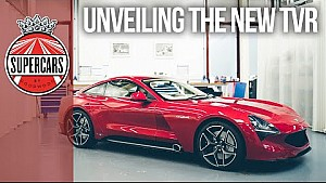 New 480bhp TVR Griffith unveiled at Revival