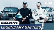 Legendary battles 1992: Klaus Ludwig vs. Johnny Cecotto - DTM exclusive