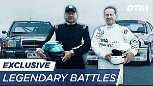 Legendary battles 1992: Klaus Ludwig vs. Johnny Cecotto - DTM exclusive