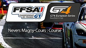 Championnat de France FFSA GT - GT4 European series Southern cup : Nevers Magny-Cours - Course 1
