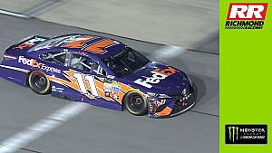 Denny Hamlin: 'Tonight, I was a clown'