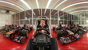 GP de Singapur Daniil Kvyat 360 hotlap Scuderia Toro Rosso