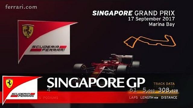 تقديم جائزة سنغافورة الكبرى: سكوديريا فيراري 2017