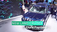 Toyota at Frankfurt motor show 2017 - New land cruiser